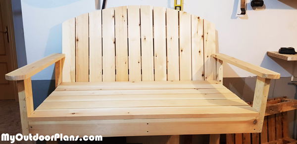 Wooden-Glider-Swing-Bench