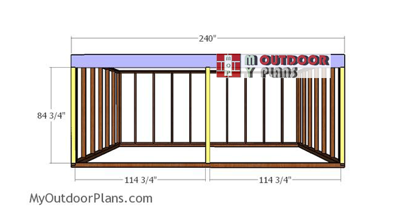 front-wall-frame---12x20-field-shed