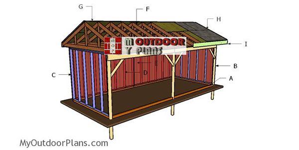 Building-a-10x24-field-shed