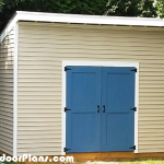 DIY 10×14 Lean to Shed