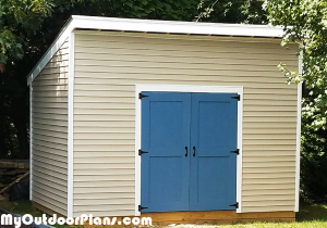 DIY-10x14-Lean-to-Shed