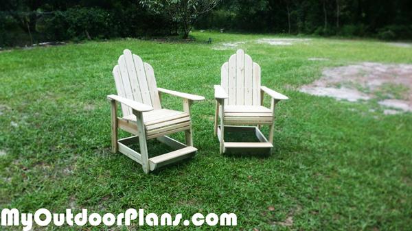 Diy Table High Adirondack Chairs Myoutdoorplans Free
