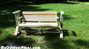 DIY Glider Swing with Bench