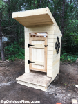 DIY Simple Outhouse