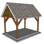 10×14 Pavilion Plans