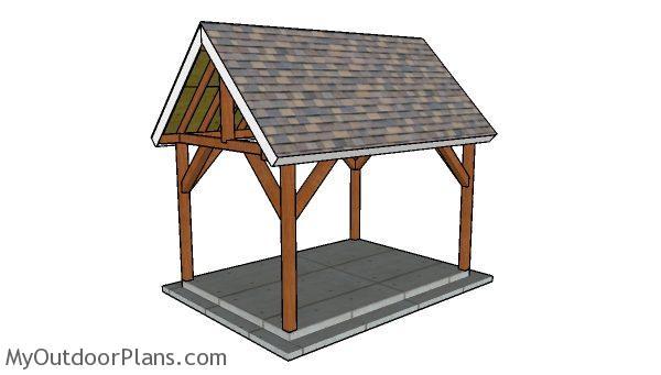 Do It Yourself Home Design: 10x14 Pavilion Plans