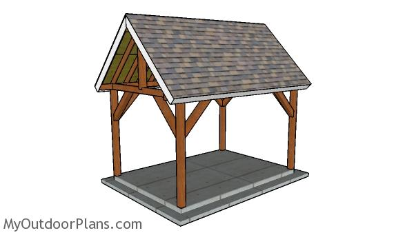 10x14 Pavilion Plans
