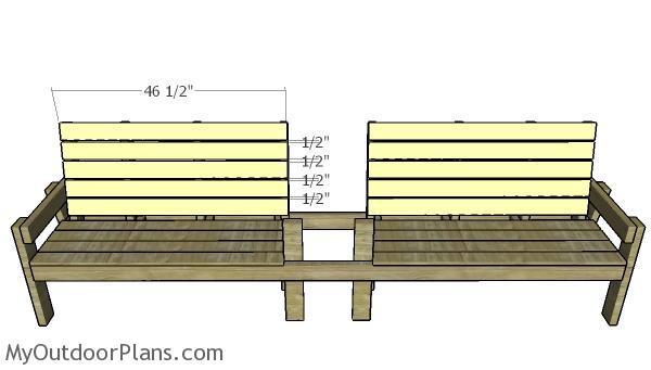 Backrest slats