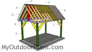 Building a 10x14 pavilion