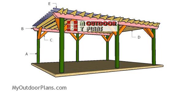 Building-a-16x24-pergola