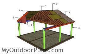 Building a 2 car carport