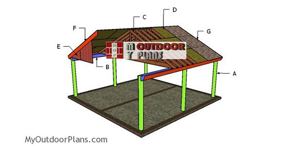 Building-a-2-car-carport
