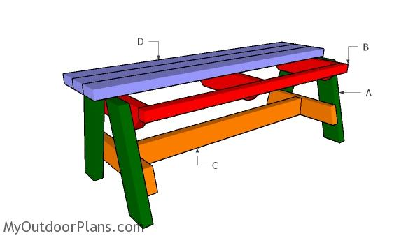 Building a simple garden bench
