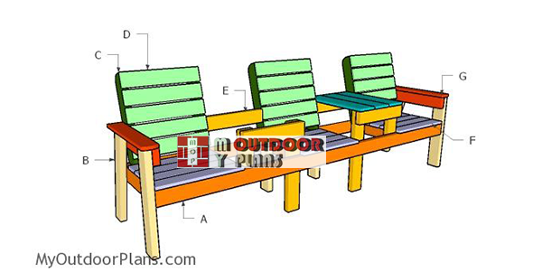 Building-a-three-chair-bench