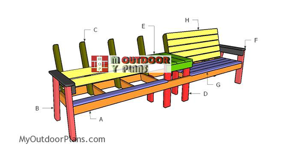 Building-double-loveseat-with-table