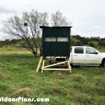 DIY 4×6 Elevated Deer Blind