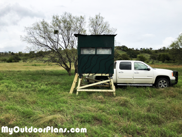 DIY 4x6 Elevated Deer Blind