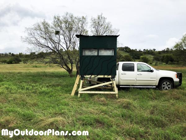 DIY-4x6-Deer-Stand