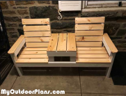 DIY Jack and Jill Bench