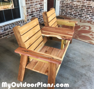 DIY-Double-Chair-with-table
