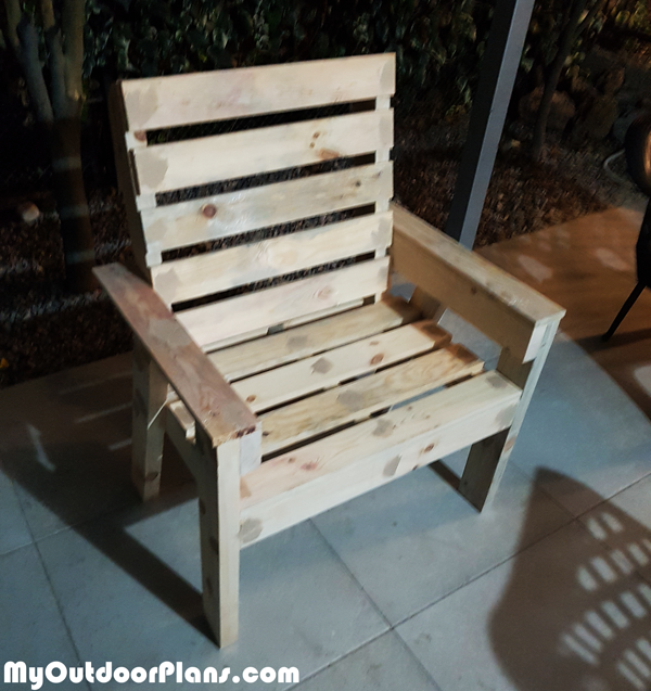 DIY Simple Garden Chair