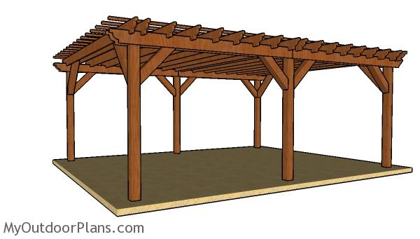 How to build a 16x24 pergola