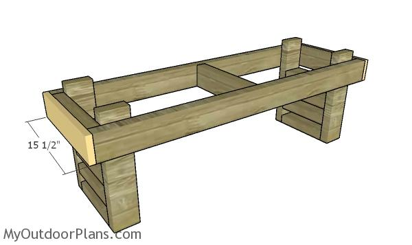 Side bench trims