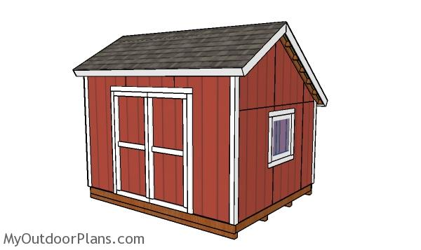 10x12 saltbox shed plans