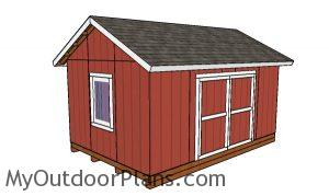 12x18 Gable Shed Plans