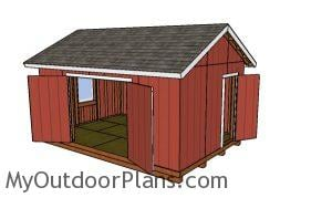 12x18 Shed Plans