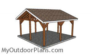 18x18 shelter plans