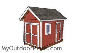 8x12 Heavy duty Shed Plans