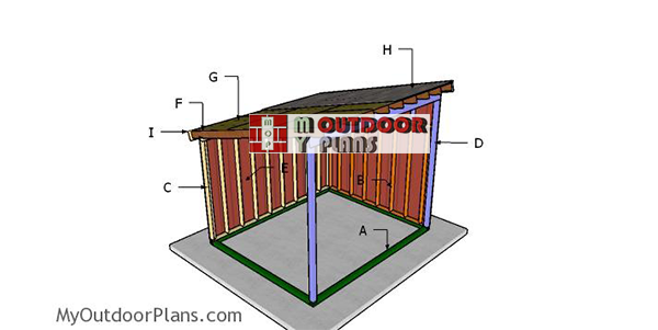 Building-a-10x12-horse-shed