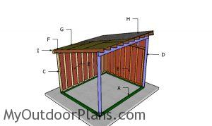 Building a 10x12 horse shelter