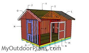 Building a 12x18 shed
