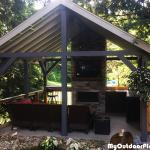 DIY 16×16 Outdoor Pavilion