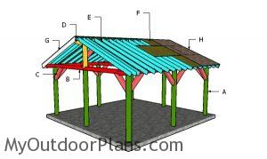 Building a 18x18 picnic shelter