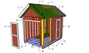 8×12 Heavy Duty Shed Roof Plans