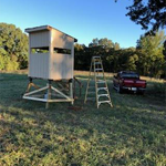 DIY 4×5 Deer Stand