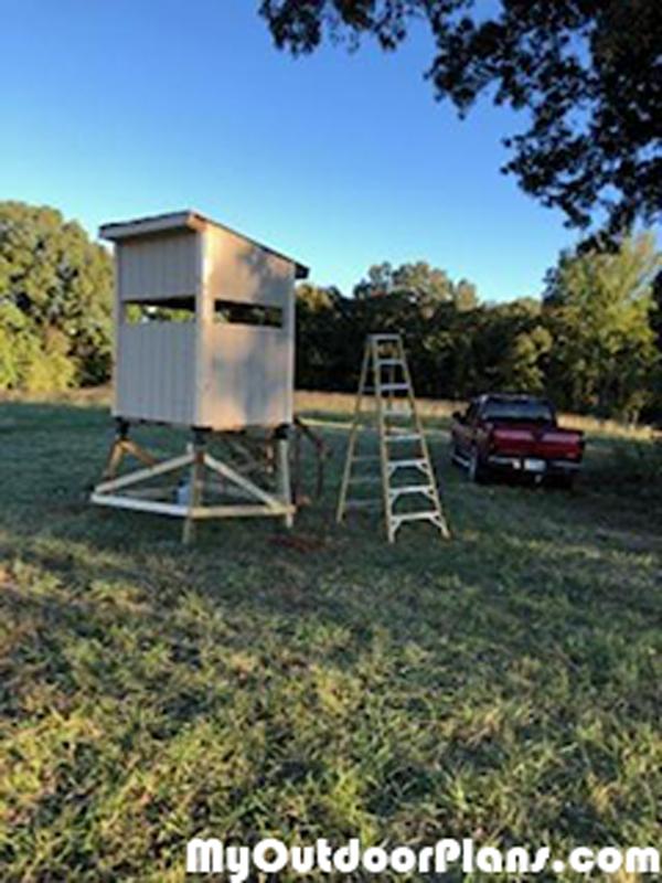 DIY 4x5 Deer Stand
