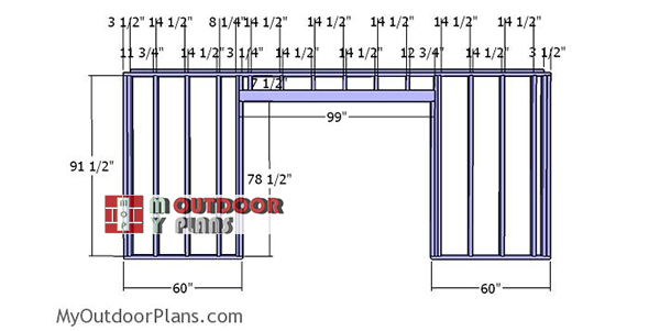 Front-wall-frame---12x18-shed