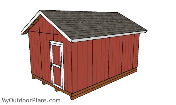 How to build a 12x18 shed