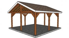 18×18 Outdoor Shelter Plans
