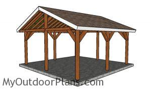 How to build a 18x18 shelter