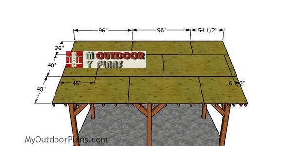 Roof-sheets---pavilion