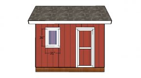 8×12 Heavy Duty Shed Door Plans