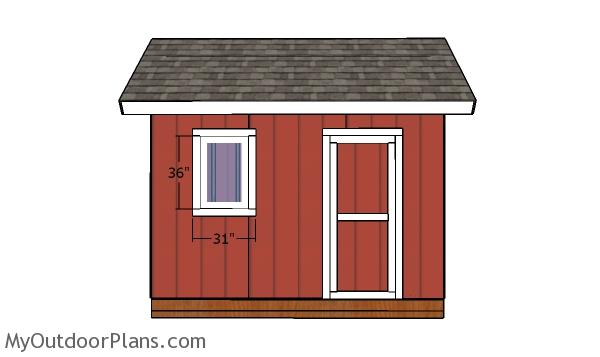 8x12 Heavy Duty Shed Door Plans