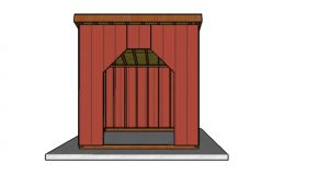 10×10 Run in Shed Plans