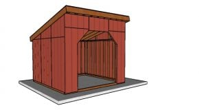 12×12 Run in Shed Plans