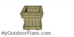 2x4 garden planter plans